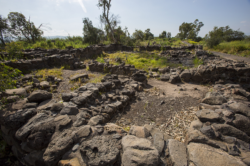 Bethsaida_ Ancient House Courtyard_1st Century