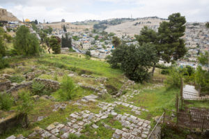 Jerusalem - Gallicantu_Steps and Ancient Buildings from the 2nd Temple Period and Byzantine Era
