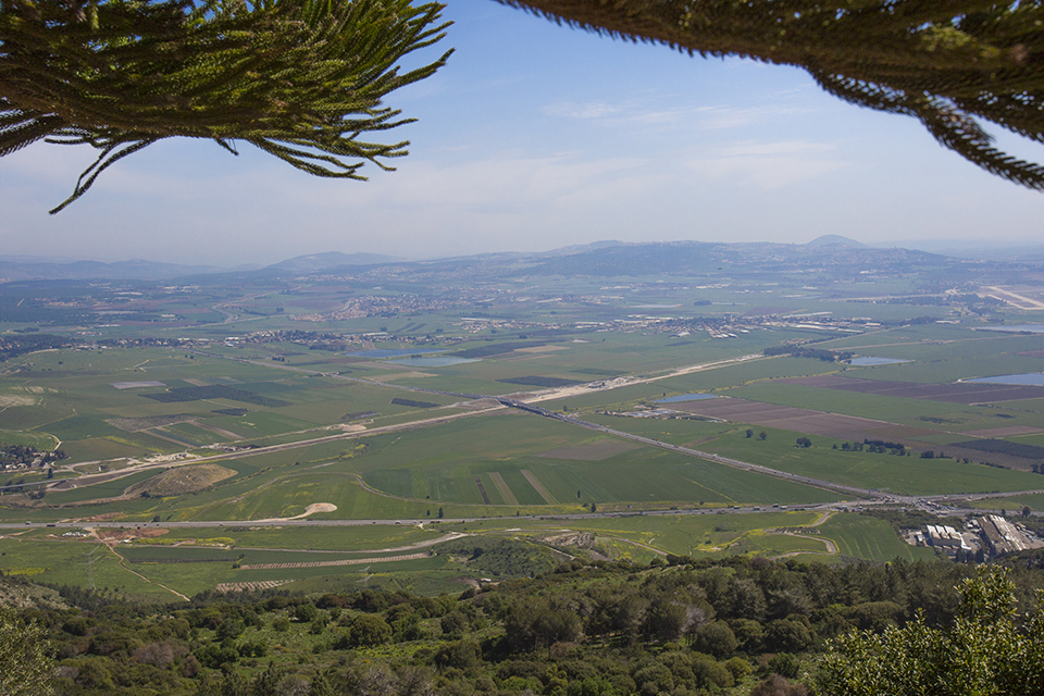 Mount Carmel_From Muhraqa Monastery looking east