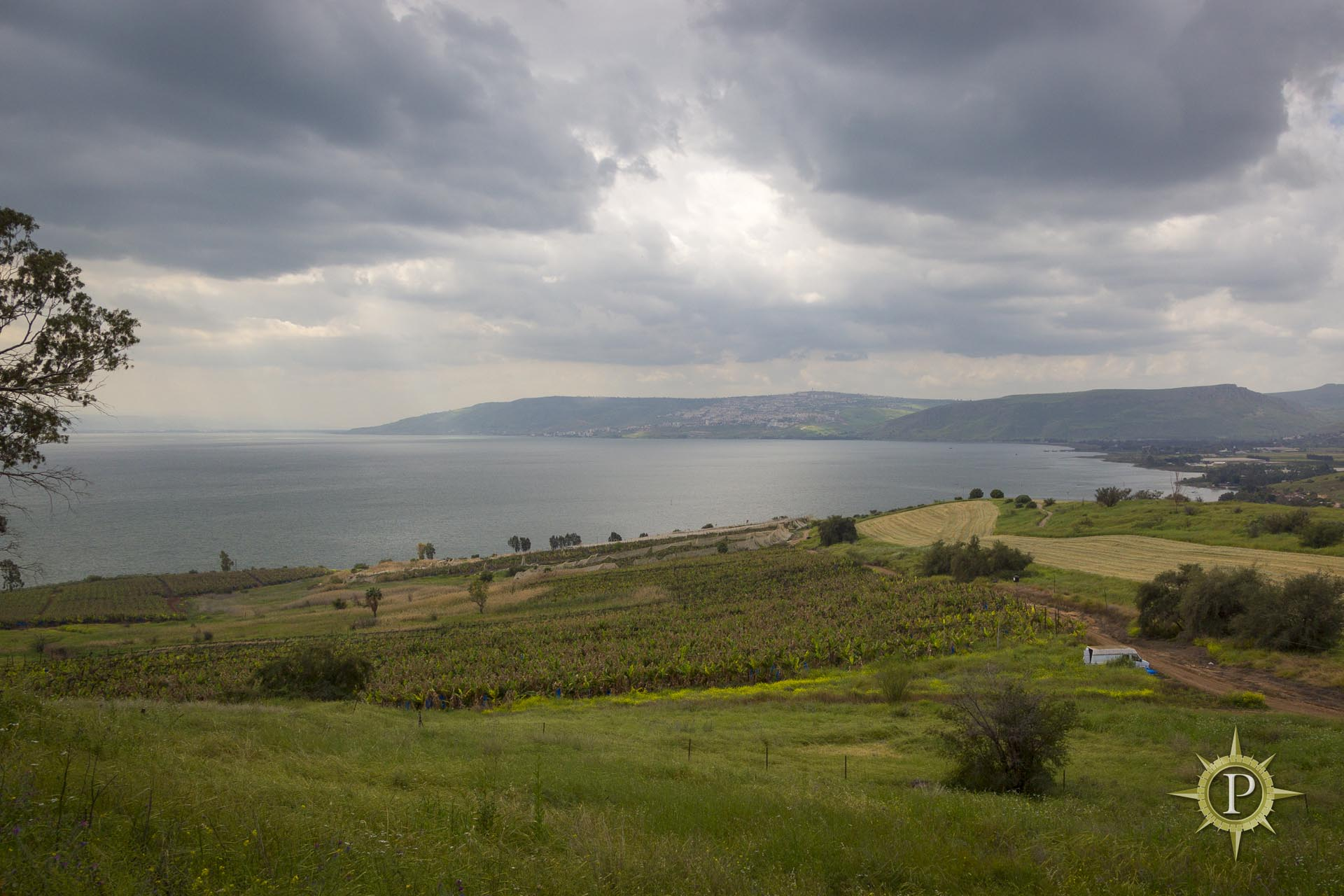 Sea of Galilee - Cove of the Sower